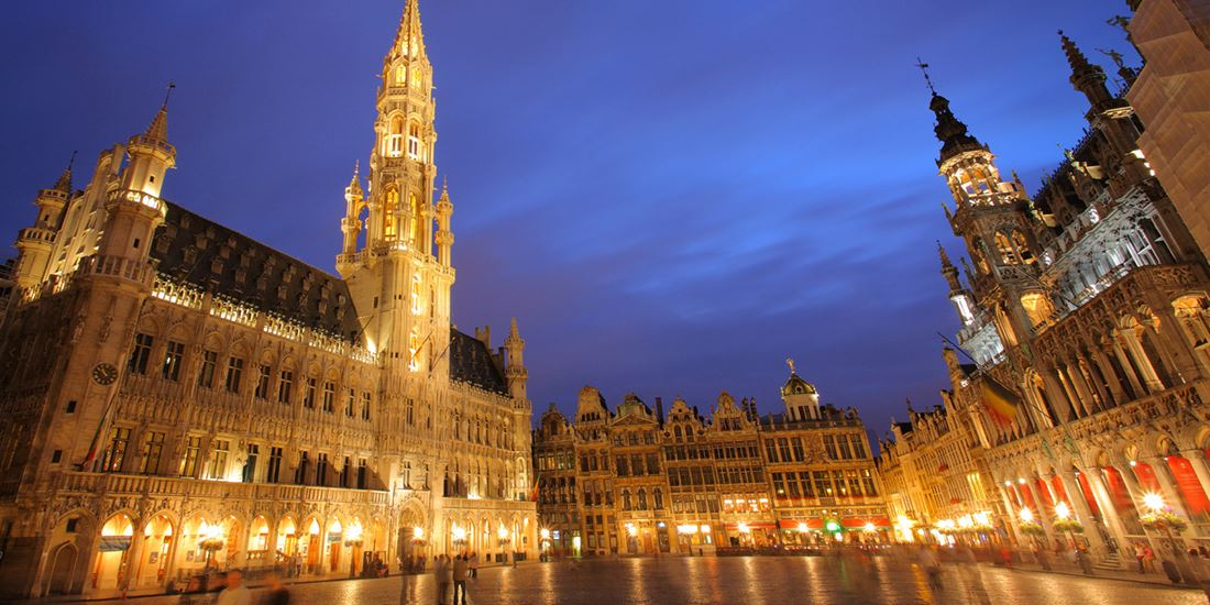 Grand Place i Brussel