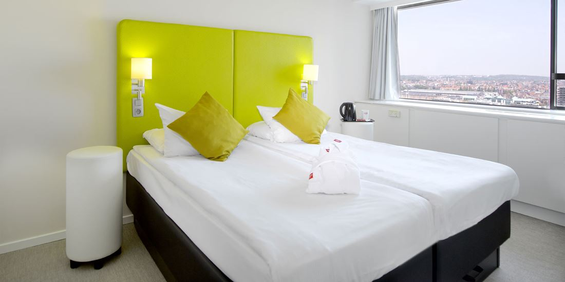 Thon Hotel Brussels City Centre klassisk twinrom